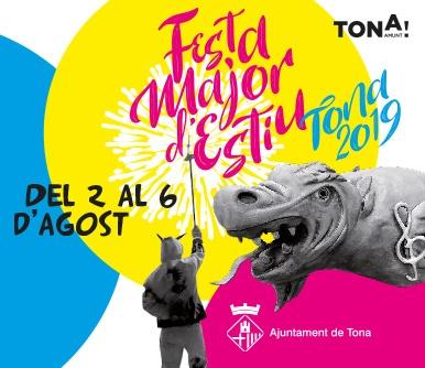 FESTA MAJOR D'ESTIU del 2 al 6 d'agost
